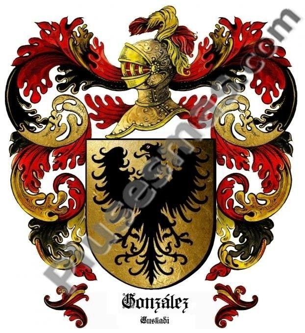 Escudo del apellido González (Euskadi)