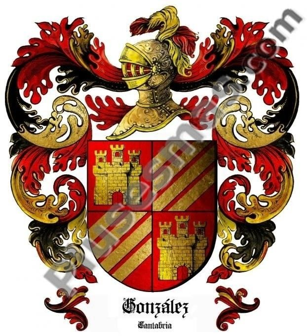 Escudo del apellido González (Cantabria)