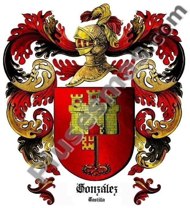 Escudo del apellido González (Castilla)