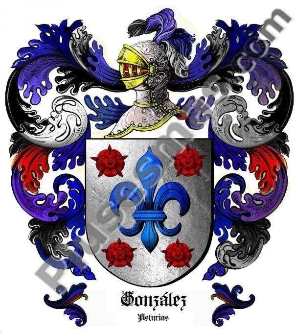 Escudo del apellido González (Asturias)
