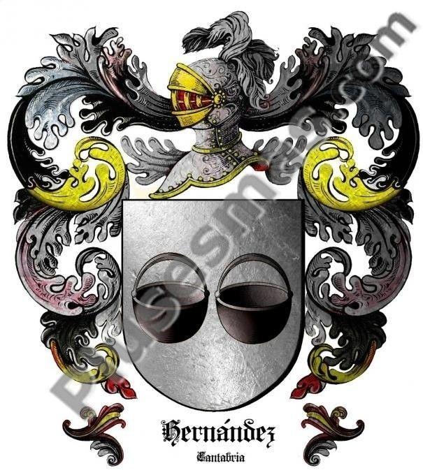 Escudo del apellido Hernández (Cantabria)