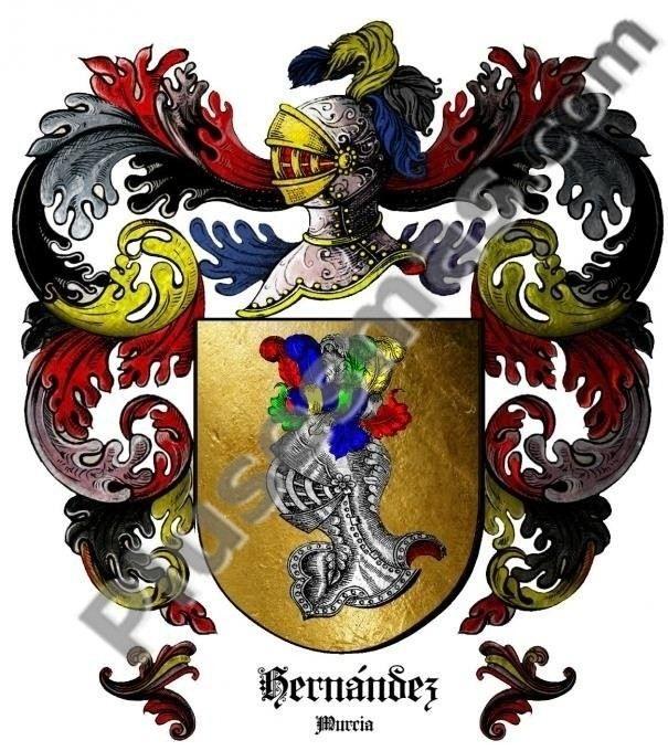 Escudo del apellido Hernández (Murcia)
