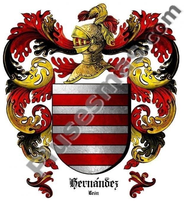 Escudo del apellido Hernández (León)