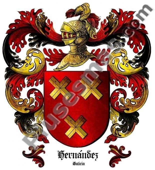 Escudo del apellido Hernández (Galicia)