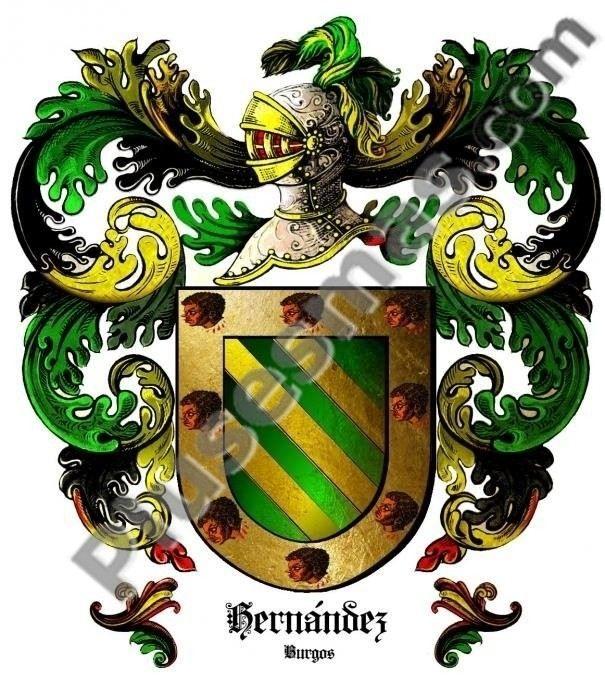 Escudo del apellido Hernández (Burgos)