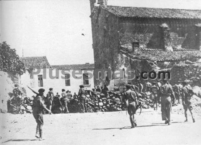 Barricada en el palacio de san benito