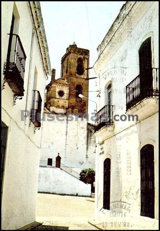 Calle virgen del monte en cazalla de la sierra (sevilla)