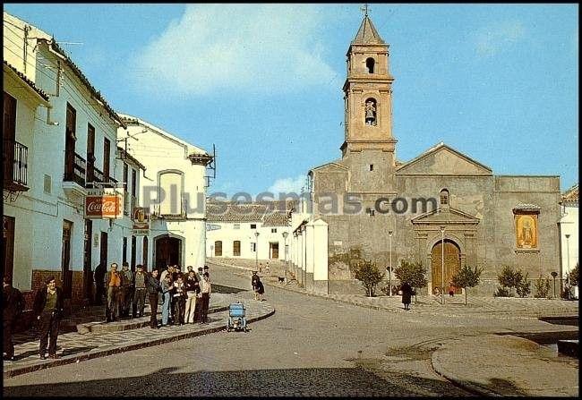 Plaza de la iglesia del saucejo (sevilla)