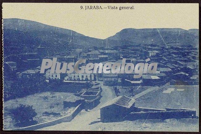 Vista general de jaraba (zaragoza)