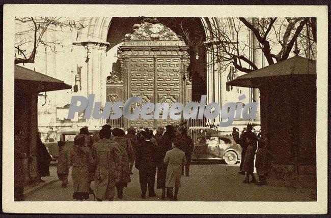 foto antiguas de zaragoza: