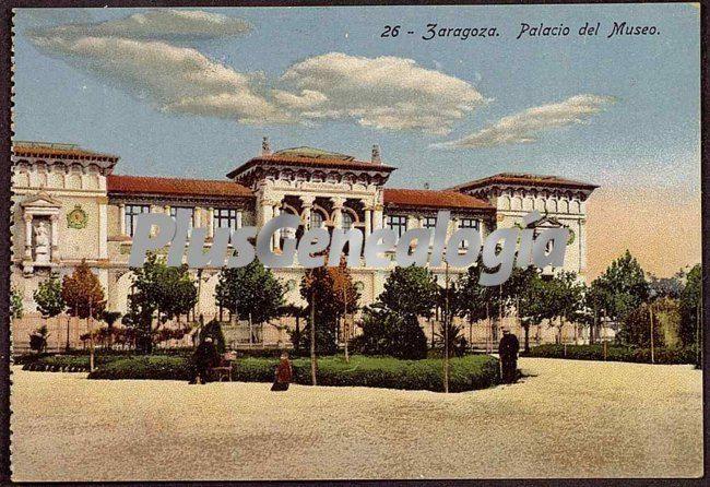 Palacio del museo de zaragoza