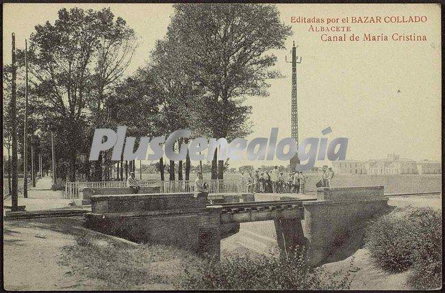 Canal de mar a cristina de albacete fotos antiguas for Canal castilla la mancha