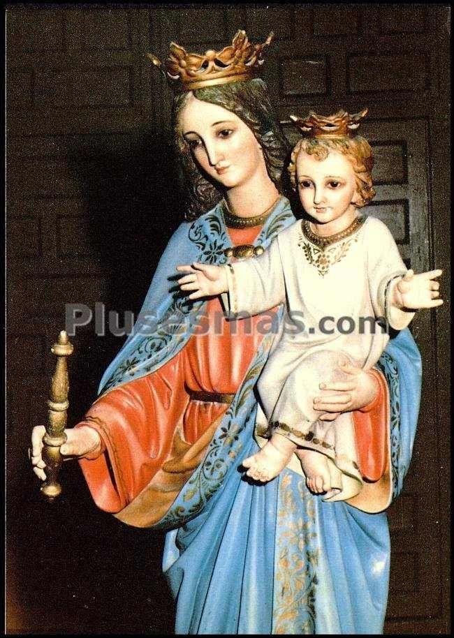 María auxiliadora en abia de la obispalia (cuenca)