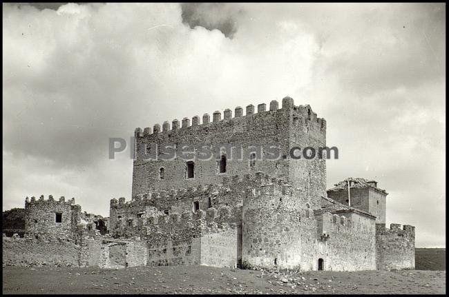 Castillo de guadalerzas en los yébenes (toledo)