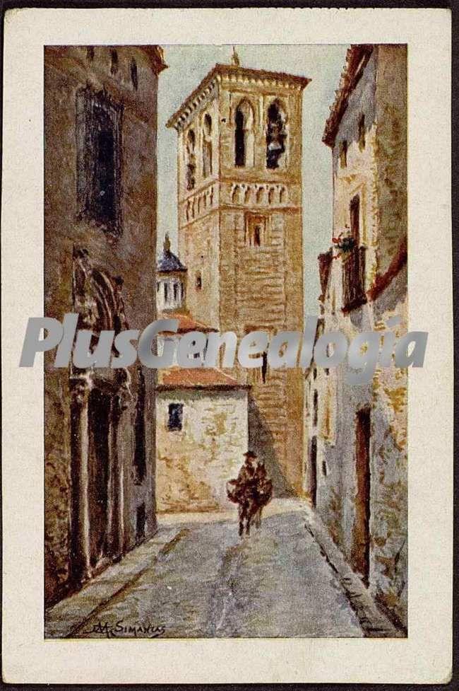 Armario Keter Jardin ~ Pintura de una calle de toledo (Fotos antiguas)
