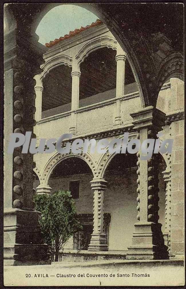 Claustro del convento de santo thomás de ávila