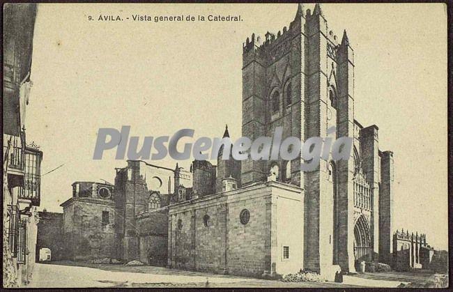 Vista general de la catedral de ávila