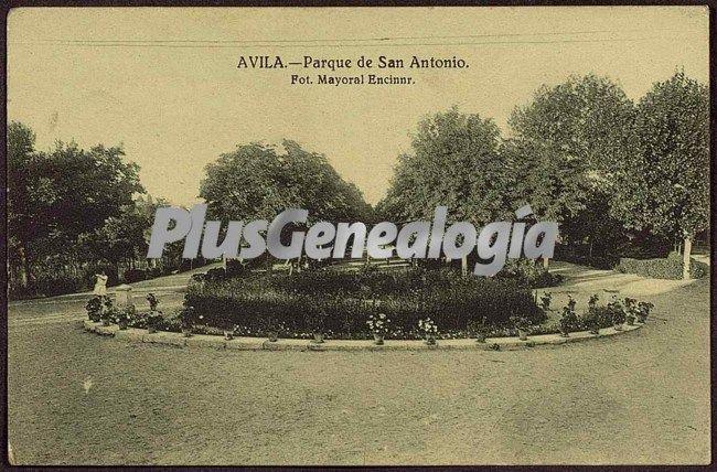 Parque de san antonio de ávila