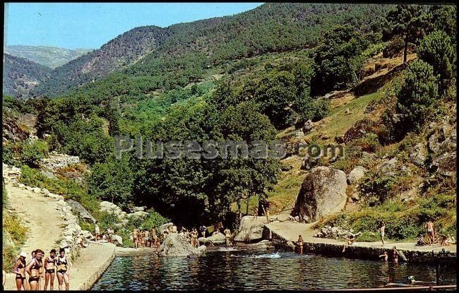 Piscina y garganta del chorro en gavilanes vila fotos for Piscinas naturales santander