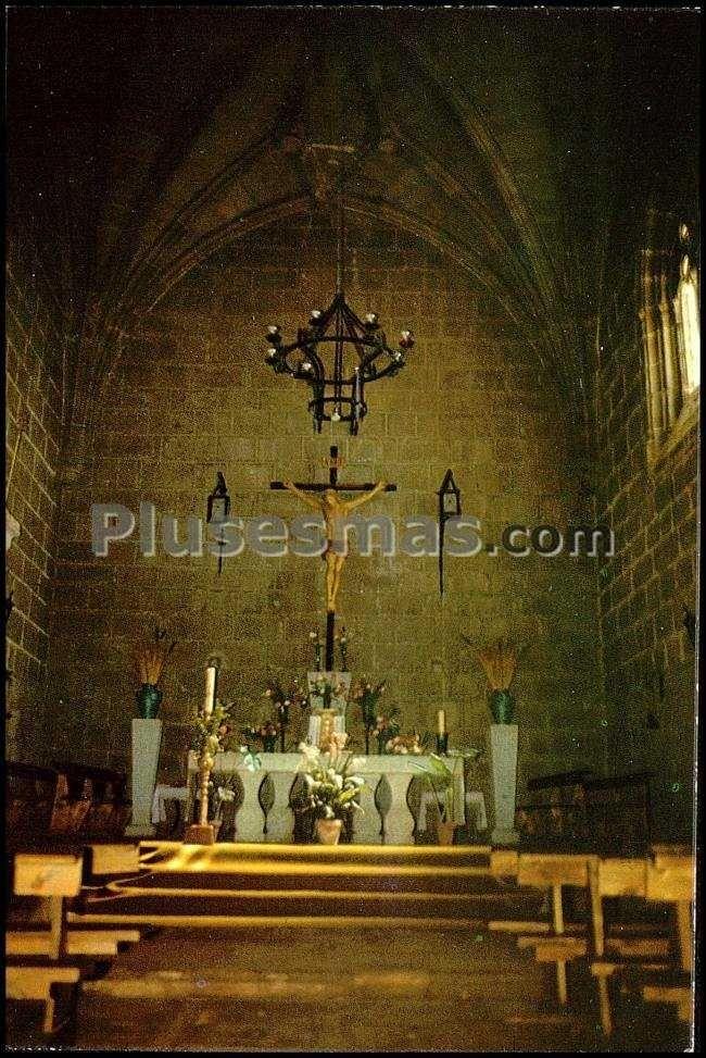 Vista interior iglesia parroquial de san pedro ap stol en - Navalmoral de la sierra ...