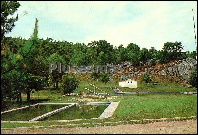 paisaje de las piscinas de huerta del rey burgos fotos