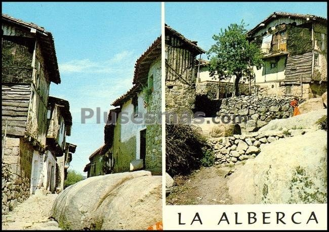 Rincones t picos de la alberca salamanca fotos antiguas for Imagenes de la alberca salamanca