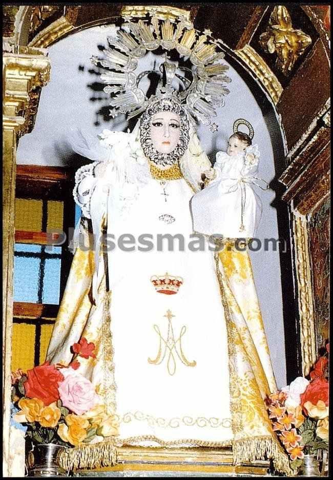 Nuestra señora del cerezuelo, patrona de cerezo de arriba (segovia)