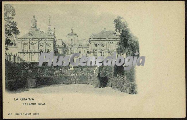 Palacio real de la granja (segovia)