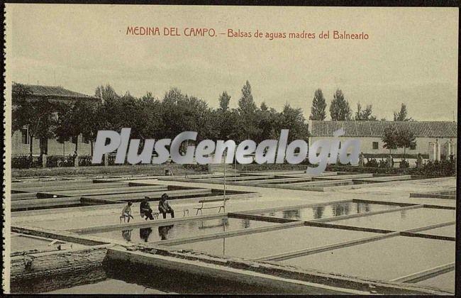Balsas de aguas madres del balneario de medina del campo - Spa en medina del campo ...