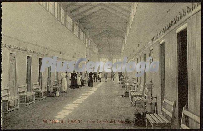 Gran galer a del balneario de medina del campo valladolid - Spa en medina del campo ...