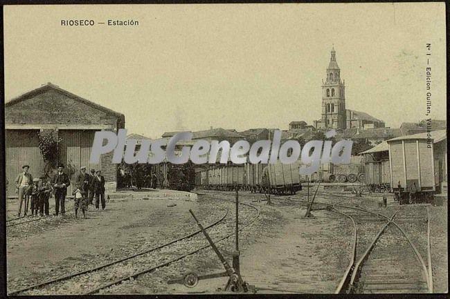 Estación de rioseco (valladolid)