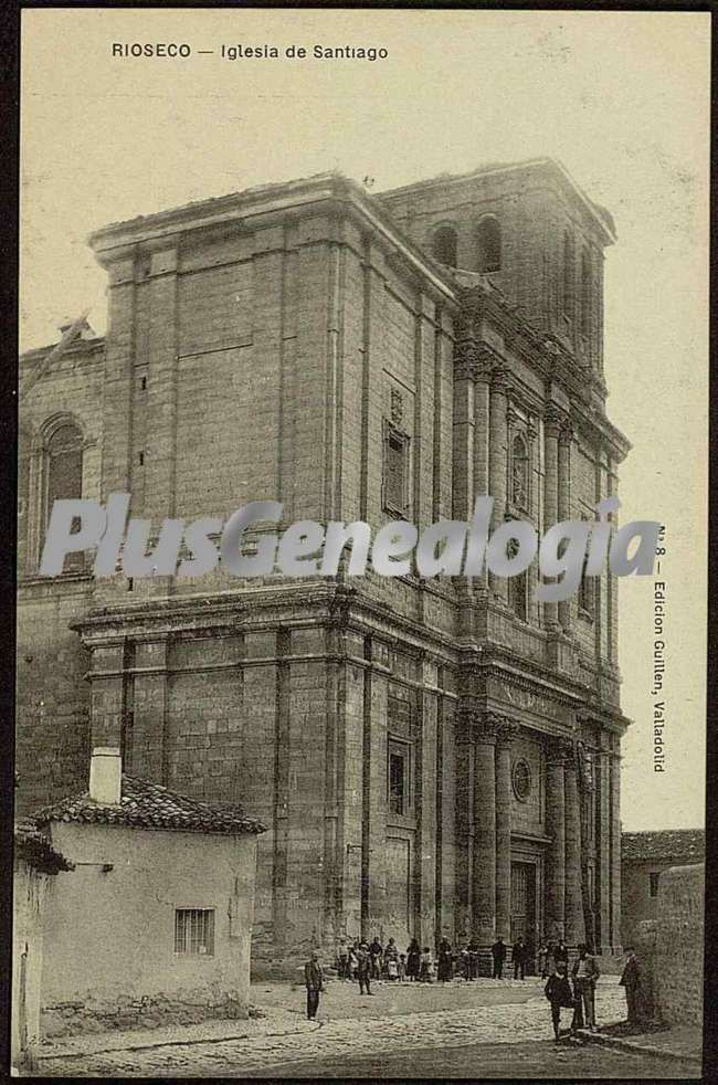 Iglesia de santiago de rioseco (valladolid)
