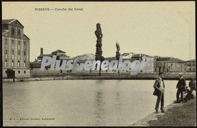 Concha del canal de rioseco (valladolid)