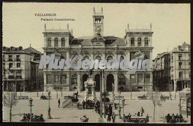 Palacio consistorial de valladolid