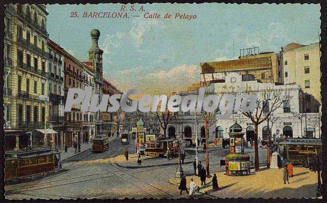 Calle de pelayo en barcelona fotos antiguas for Oficinas de pelayo en barcelona