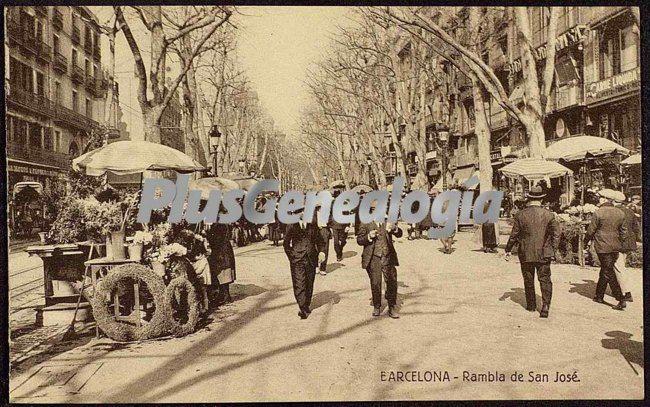 Rambla de san jos en barcelona fotos antiguas - Barcelona san jose ...