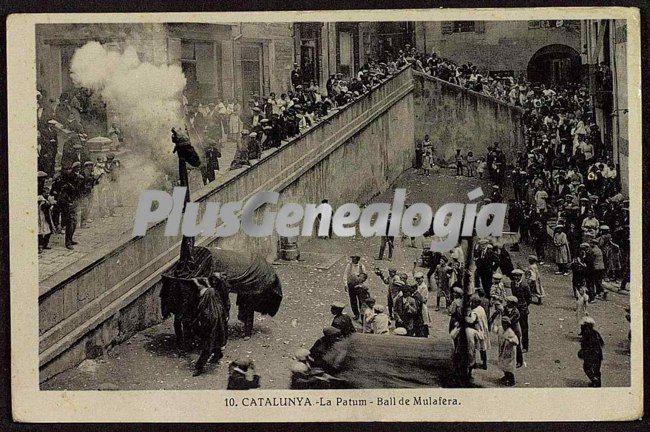 La patum ball de la mulafera de berga barcelona fotos - Ciudad de berga ...