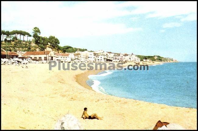 Playa espig n de canet de mar barcelona fotos antiguas for Piscina canet de mar