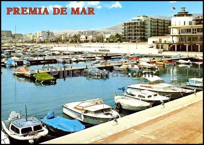 Embarcaderos del club n utico en barcelona fotos antiguas for Piscina premia de mar
