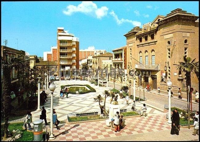 Plaza de josé antonio primo de rivera en rubi (barcelona) (Fotos antiguas)