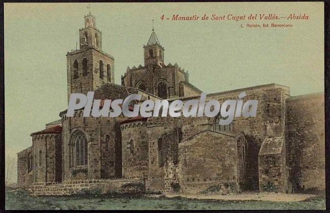 Abside del monastir de sant cugat del vall s barcelona - Mas duran sant quirze del valles ...