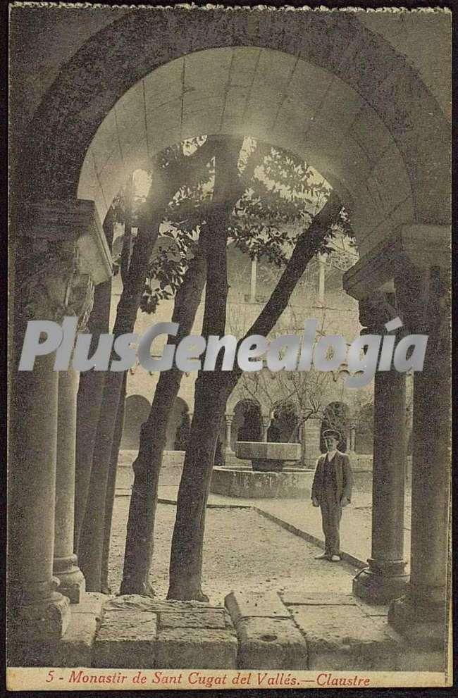 Claustre del monastir de sant cugat del vall s barcelona - Mas duran sant quirze del valles ...