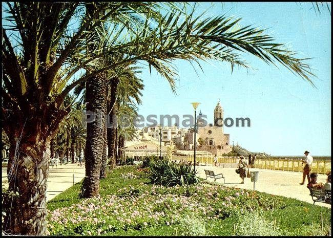 Paseo y jardines de sitges barcelona fotos antiguas - Fotos de sitges barcelona ...