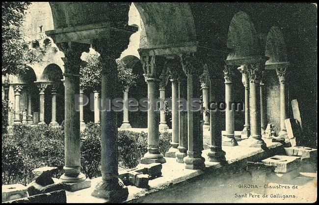 Claustres de sant pere de galligans (gerona)