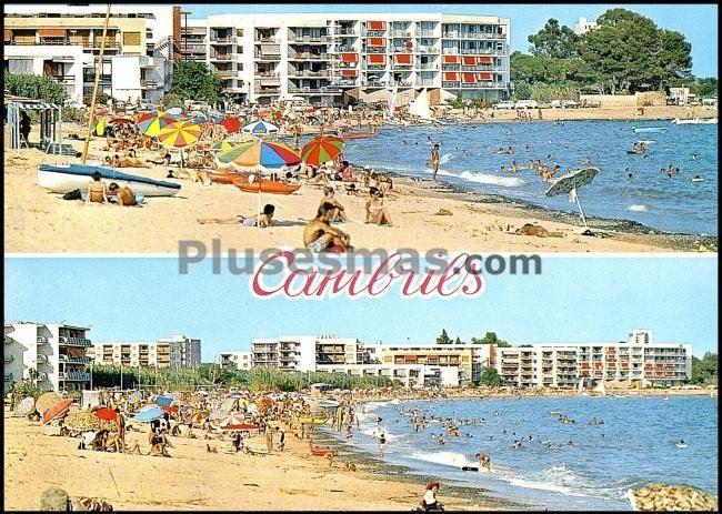 Playa de la losa de cambrills (tarragona)