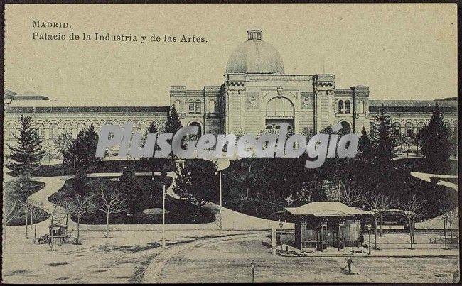 Palacio De La Industria Y De Las Artes En Madrid Fotos