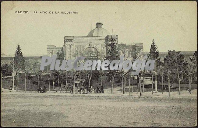 Palacio De La Industria En Madrid Fotos Antiguas