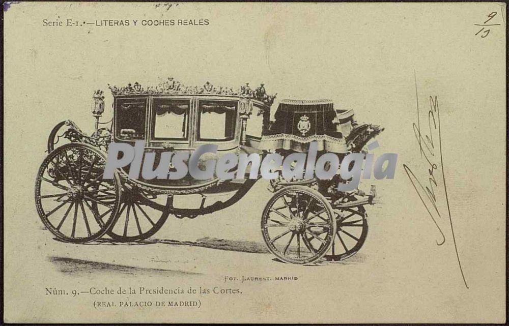 Coche de la presidencia de las cortes real palacio de for Sede de la presidencia de la comunidad de madrid