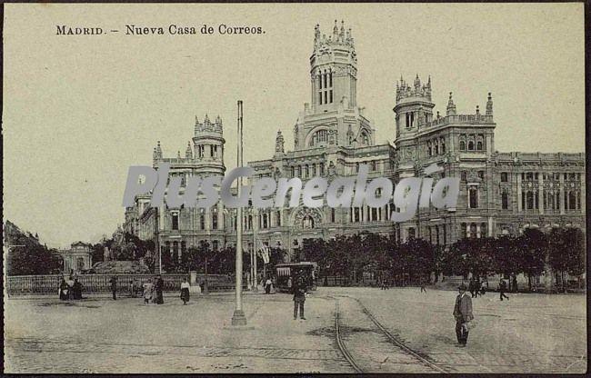 Nueva casa de correos en madrid fotos antiguas for Correo comunidad de madrid