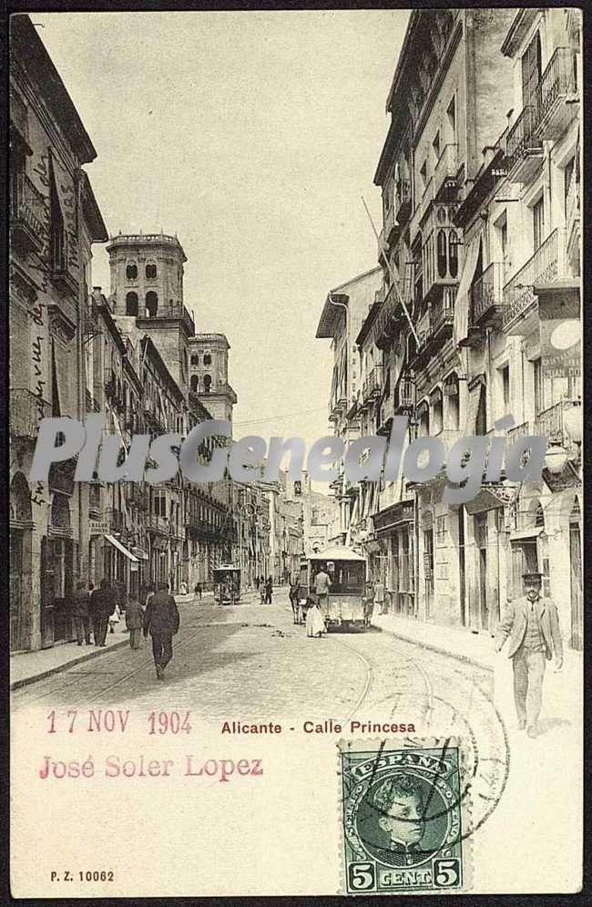 Calle princesa alicante fotos antiguas - Calle princesa barcelona ...